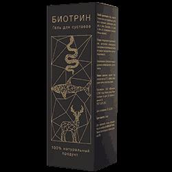 Упаковка геля Биотрин
