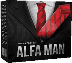 Капли Alfa Man мини версия.