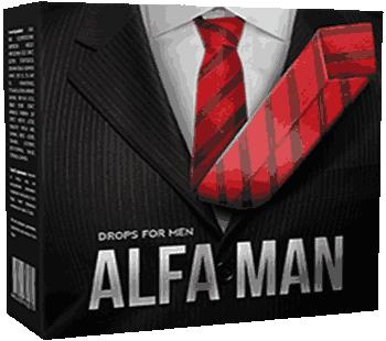 Капли Alfa Man.